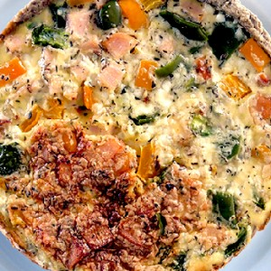 Havermout Havermout Hüttenkäse Quiche