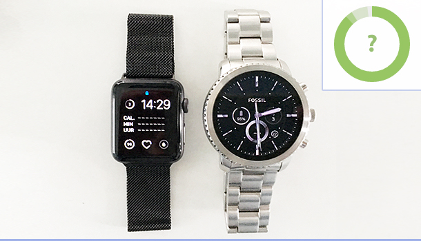Apple Watch VS Fossil Q Explorist
